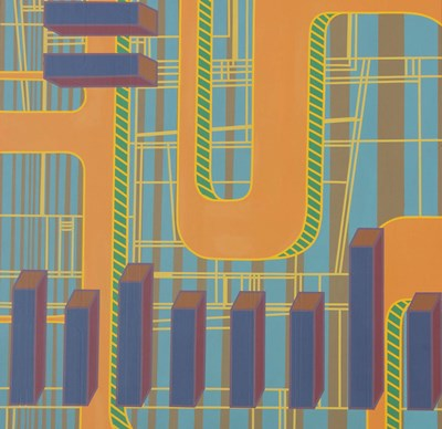 Abstract 9 art print by Eric Carbrey for $41.25 CAD