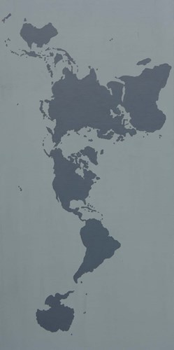 World Map art print by Eric Carbrey for $42.50 CAD