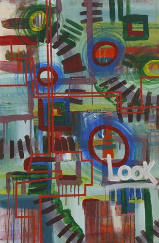 Abstract 16 art print by Eric Carbrey for $36.25 CAD
