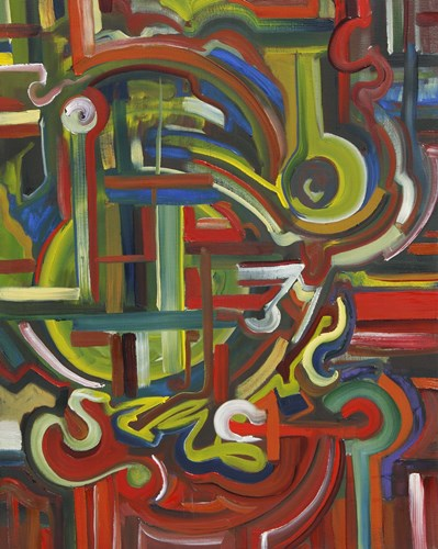 Abstract 17 art print by Eric Carbrey for $31.25 CAD