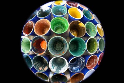 Cups And Tape 4 art print by Eric Carbrey for $43.75 CAD