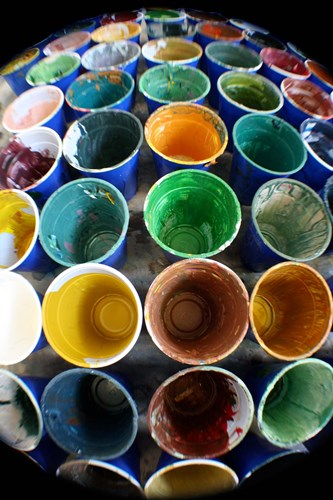 Cups And Tape 6 art print by Eric Carbrey for $43.75 CAD