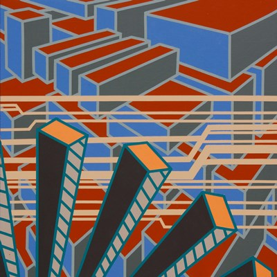 Lines Project 65 art print by Eric Carbrey for $105.00 CAD