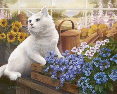 Guardian Of The Greenhouse art print by Evie Cook for $56.25 CAD