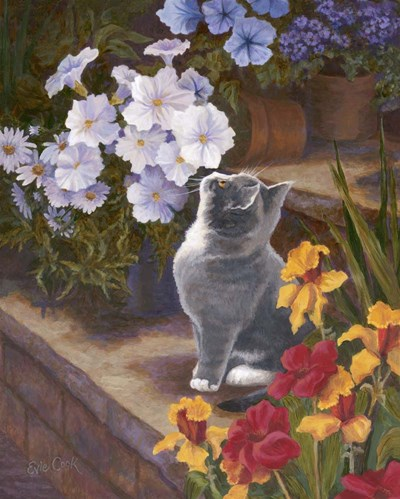 Inspecting The Blooms art print by Evie Cook for $56.25 CAD