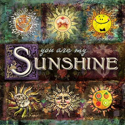 Sunshine art print by Evie Cook for $48.75 CAD