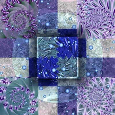 Tidepools art print by Fractalicious for $80.00 CAD