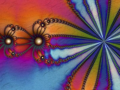 Tie Dye art print by Fractalicious for $67.50 CAD
