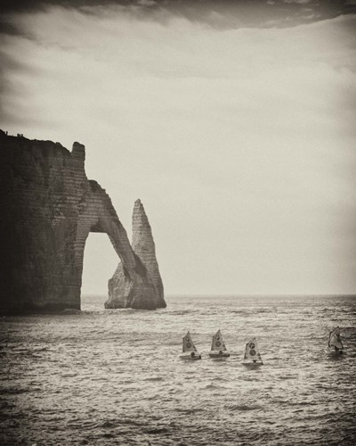 Four Blue Sails art print by Geoffrey Ansel Agrons for $56.25 CAD