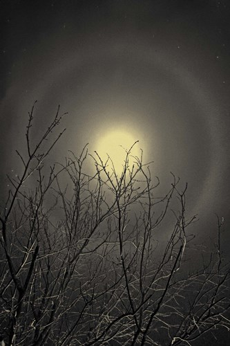 The Moon is the North Wind's Cookie art print by Geoffrey Ansel Agrons for $81.25 CAD