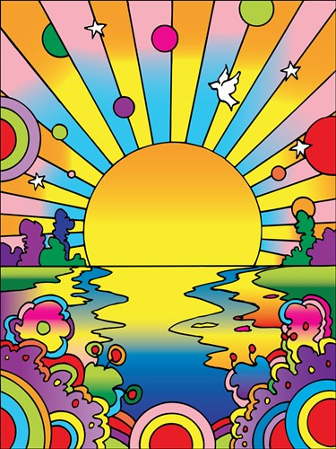 Cosmic Sun art print by Howie Green for $95.00 CAD