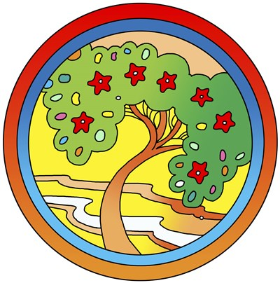 Circle-Tree art print by Howie Green for $80.00 CAD