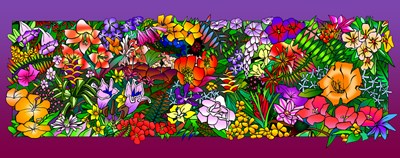Kvilleflowers 1 art print by Howie Green for $78.75 CAD
