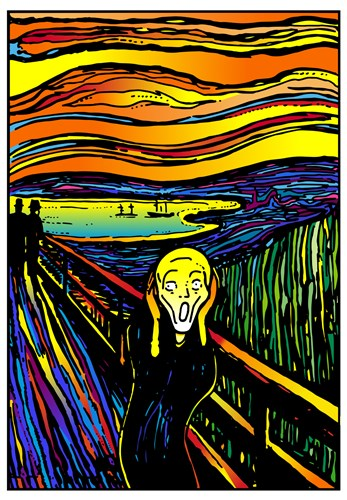 Scream 2 art print by Howie Green for $105.00 CAD