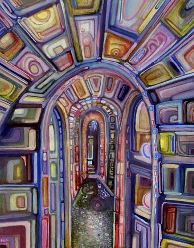 Catacombs art print by Josh Byer for $52.50 CAD