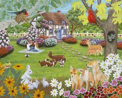 Spring Babies art print by Kathy Kehoe Bambeck for $56.25 CAD