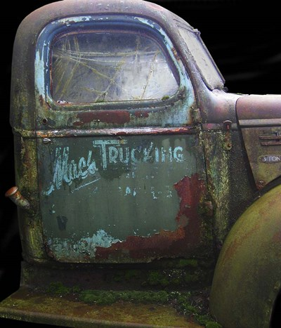 Mac's GMC art print by Larry Hunter for $37.50 CAD