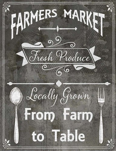 Farm Sign Farm to Table art print by LightBoxJournal for $36.25 CAD