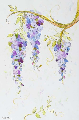 Whispers of Wisteria art print by Linda Arandas for $43.75 CAD