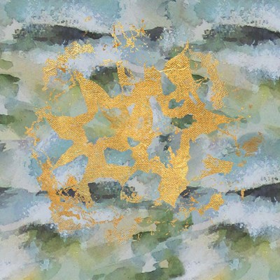 Geode Abstract 1 art print by Lisa Powell Braun for $41.25 CAD