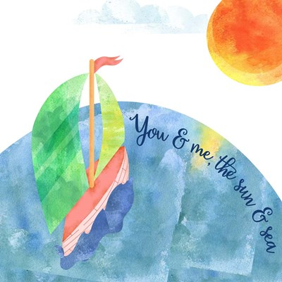 You And Me art print by Lisa Powell Braun for $41.25 CAD