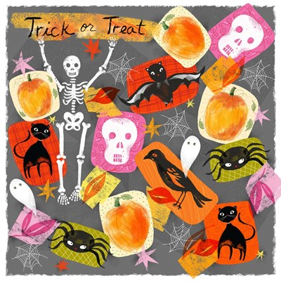 Trick Or Treat art print by Lisa Powell Braun for $41.25 CAD