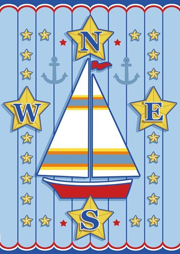 Nautical III art print by Michele Meissner for $70.00 CAD