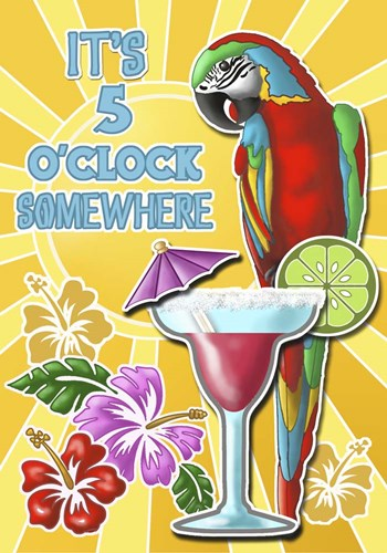 Five O'clock 1 art print by Michele Meissner for $70.00 CAD