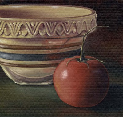 Apple Tomato art print by Michele Meissner for $55.00 CAD