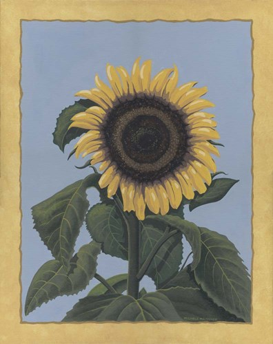 Apple Sunflower art print by Michele Meissner for $65.00 CAD