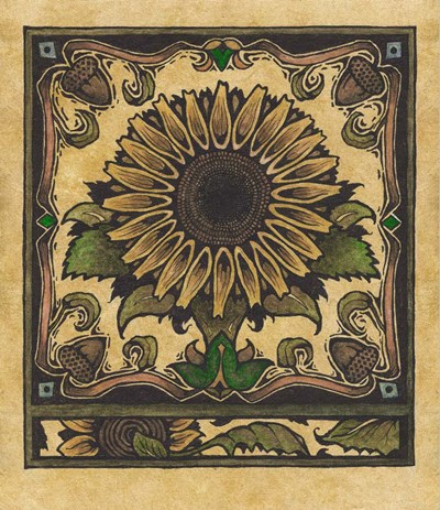 Apple Sunflower 2 art print by Michele Meissner for $61.25 CAD