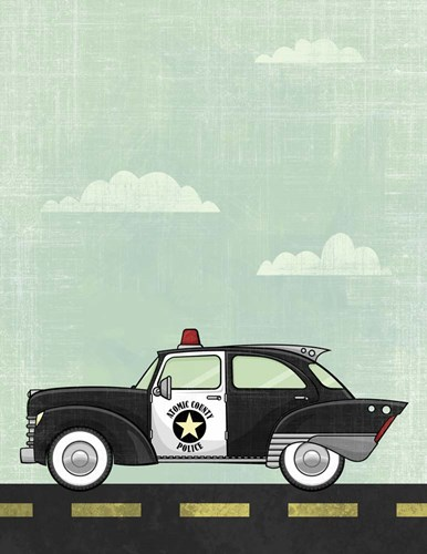 Police art print by Michael Murdock for $40.00 CAD