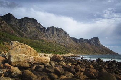 Coastal Mountains art print by Pixie Pics for $43.75 CAD