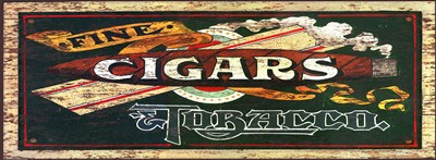 Fine Cigars art print by Red Horse Signs for $57.50 CAD