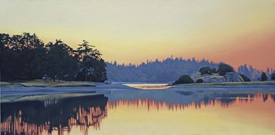 Piper's Lagoon Sundown art print by Ron Parker for $41.25 CAD