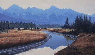 Rocky Mountain Dawn art print by Ron Parker for $46.25 CAD