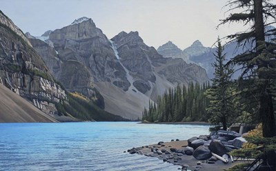 Valley of the Ten Peaks art print by Ron Parker for $47.50 CAD