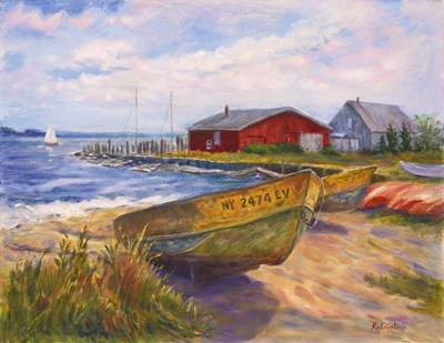 In From the Sea art print by Rosanne Kaloustian for $68.75 CAD
