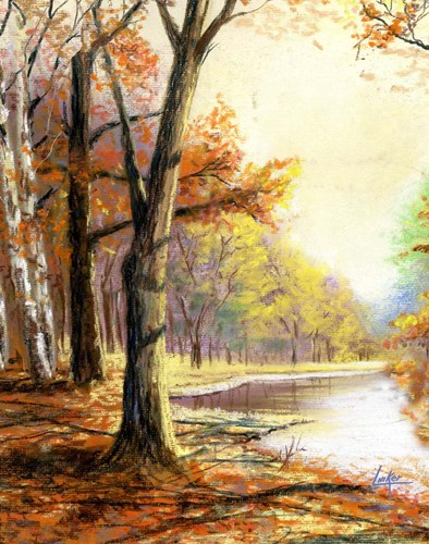 Autumn art print by Thomas Linker for $40.00 CAD