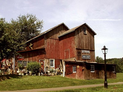 Old Barn art print by Thomas Linker for $47.50 CAD