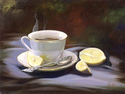 Tea Time art print by Thomas Linker for $47.50 CAD
