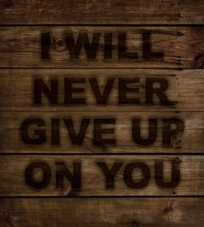 Never Give Up art print by Tina Lavoie for $37.50 CAD