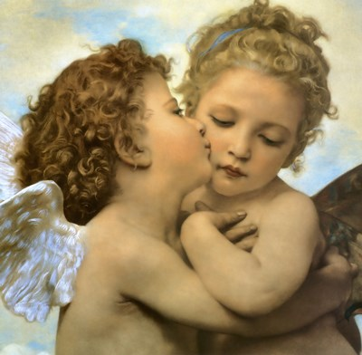 Angels and Cupids art print by William Adolphe Bouguereau for $78.75 CAD