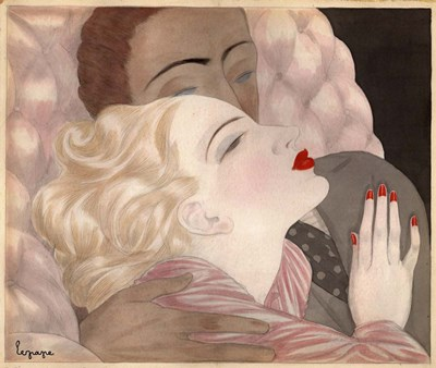 Love art print by Georges Lepape for $57.50 CAD