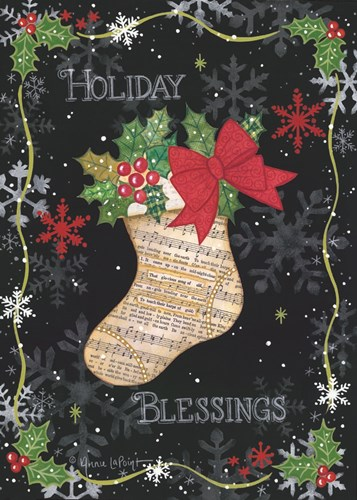 Holiday Blessings art print by Annie Lapoint for $42.50 CAD