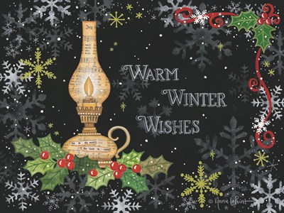 Warm Winter Wishes art print by Annie Lapoint for $35.00 CAD