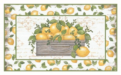 Lemon Galvanized Bucket art print by Annie Lapoint for $42.50 CAD