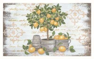 Lemon Topiary art print by Annie Lapoint for $42.50 CAD