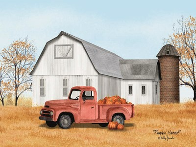 Pumpkin Harvest art print by Billy Jacobs for $41.25 CAD