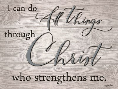 I Can Do All Things art print by Susie Boyer for $41.25 CAD